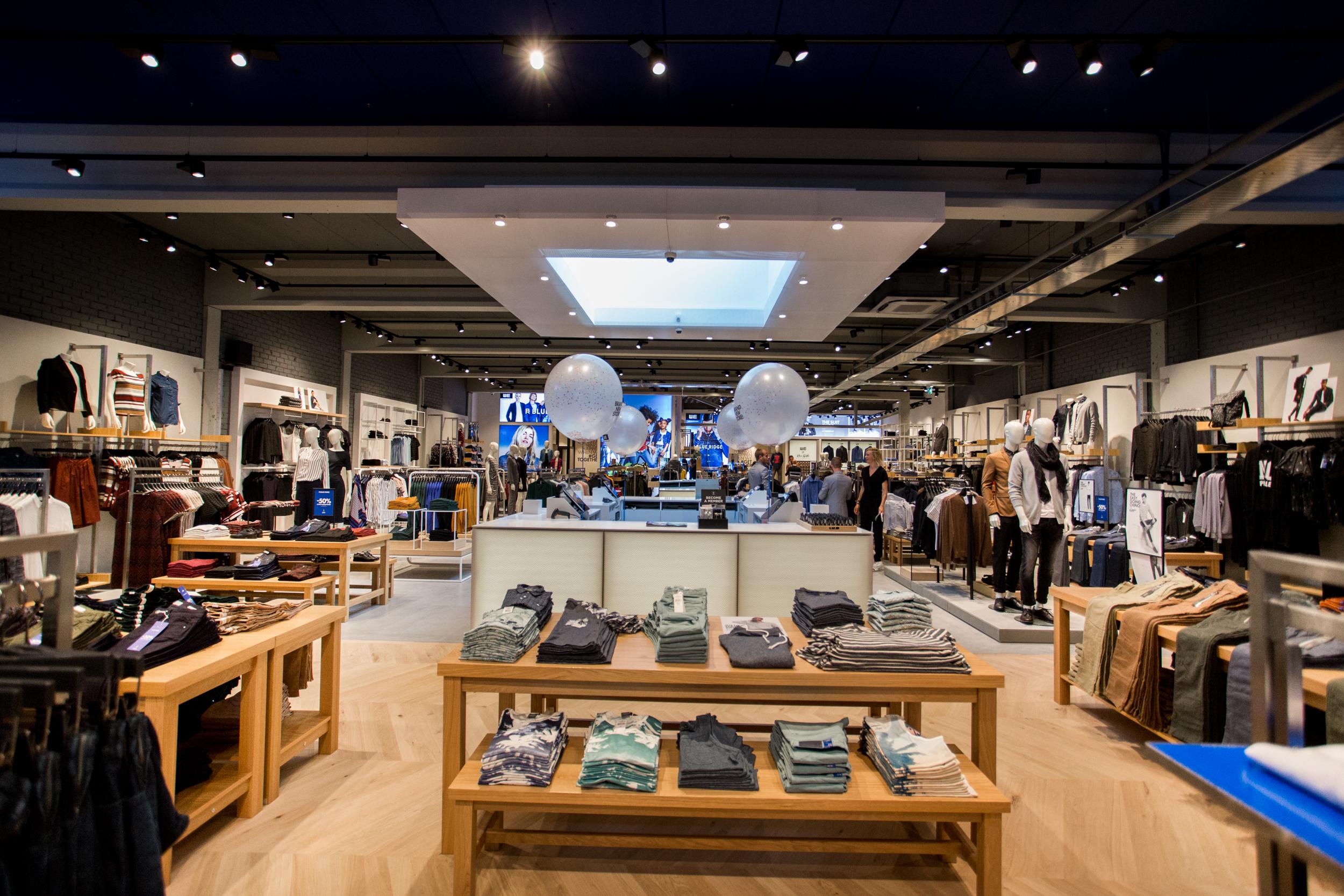Referenties winkels techniek bv for Interieur winkels