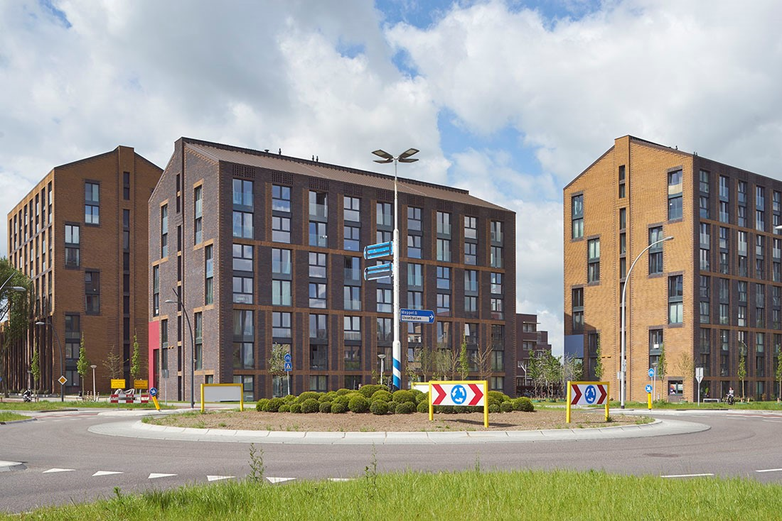 Nieuwbouw van 110 studentenappartementen in Zwolle